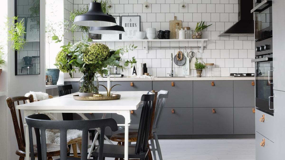 Дизайн кухни в скандинавском стиле фото